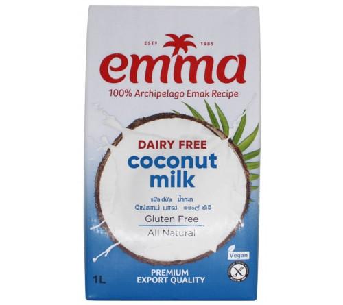 2 x Emma UHT Coconut Milk !L, 18% Fat