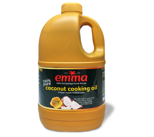 Emma Coconut Cooking Oil 1L